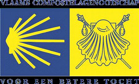met ondersteuning van het Vlaams Compostelagenootschap