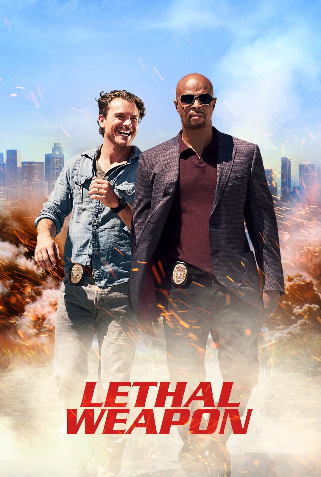 Lethal Weapon [S01][1x01-1x05] WEB-DL 720p LAT-EN
