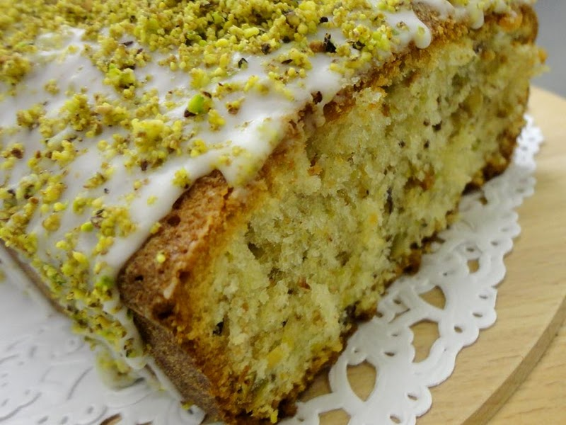 The Extraordinary Art of Cake: Pistachio Loaf Cake Recipe
