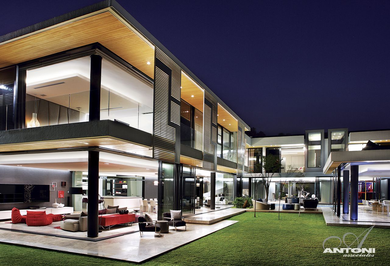 World of architecture dream homes in south africa 6th for Modern beautiful house