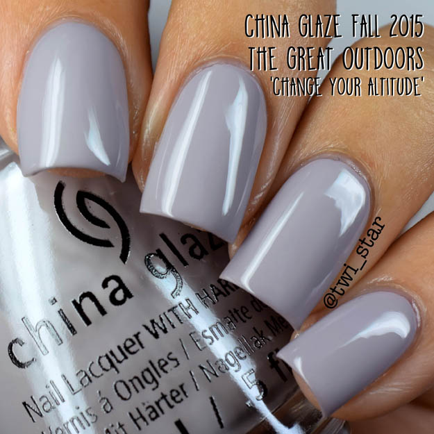 China Glaze The Great Outdoors Fall 2015 Change Your Altitude
