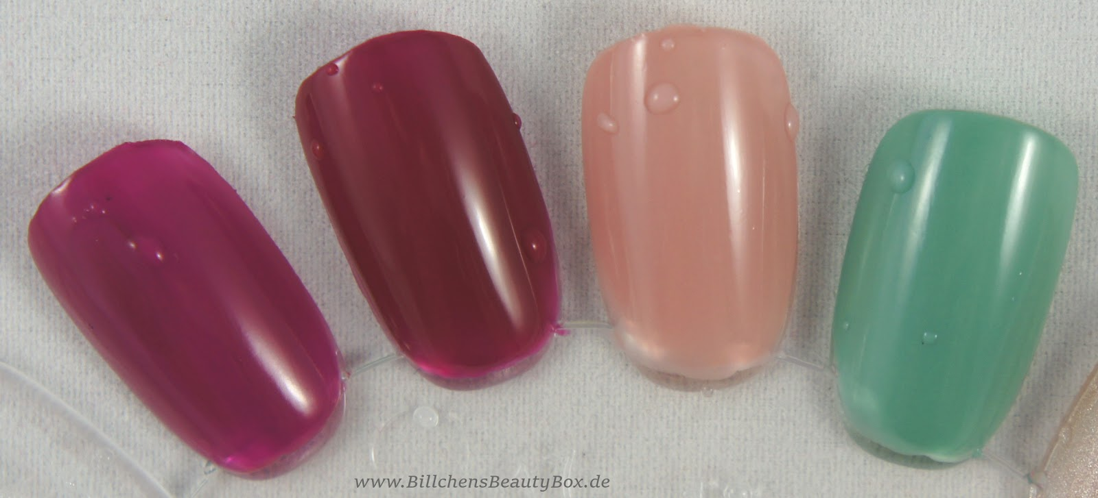 Nageldesign selber machen interessanter Nagellack mit  - nageldesign nagellack in wasser