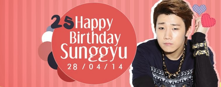 Sunggyu B-Day 2014