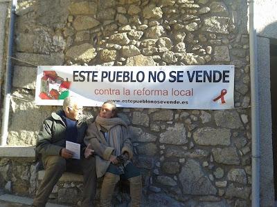 Monforte de la Sierra, Salamanca, este pueblo no se vende, contra la reforma local