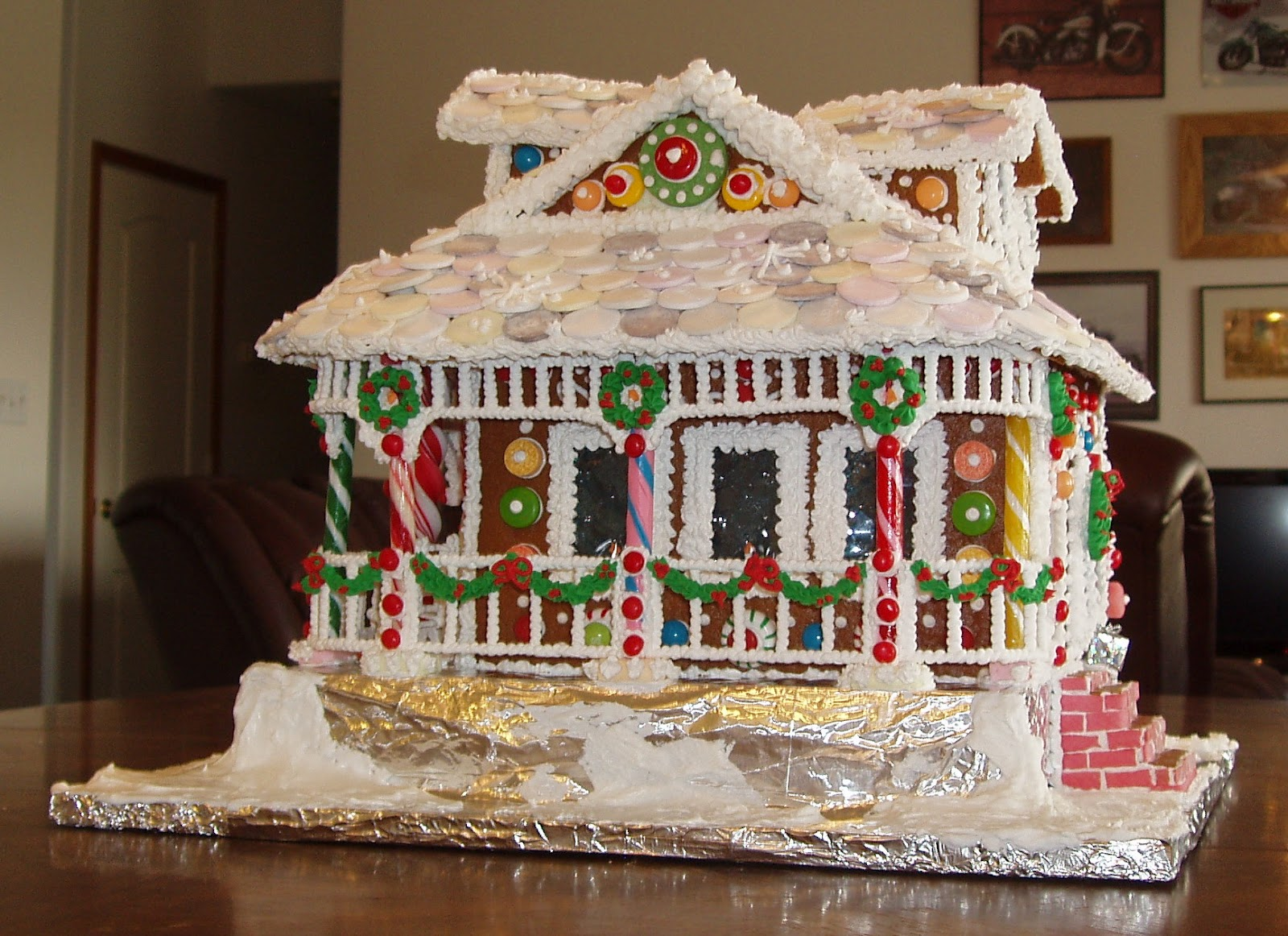 Best shed plans plans to making gingerbread victorian pdf for Victorian gingerbread house plans