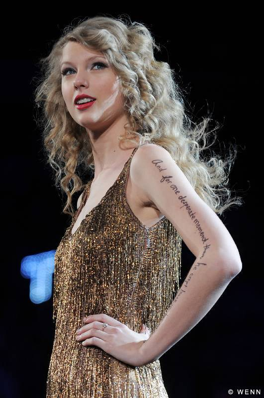 Taylor Swift Tattoo
