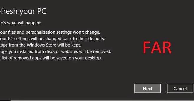 Cara Install Ulang WIndows 8 dengan Fitur Refresh Your PC Tanpa CD ...
