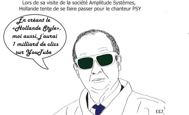 Amplitude systemes: apres le gangnam style, le hollande style