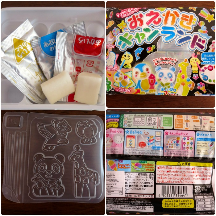 Popin' Cookin' Oekaki Animal Candy Land DIY Kit