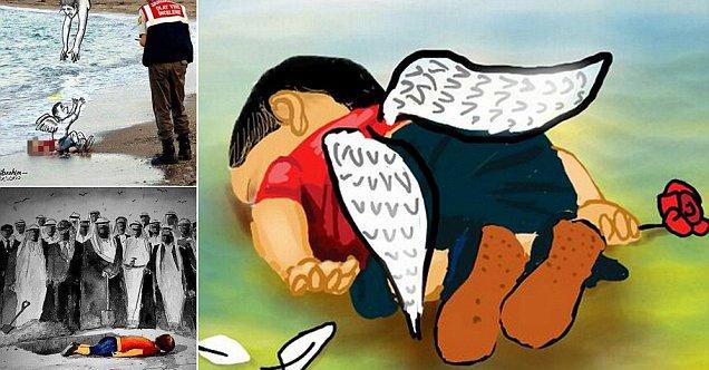 O menino sírio que simboliza a consciência da humanidade - ou a falta dela