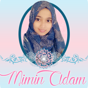 Banner Blog Mimin Adam, edit blog murah, design blog murah, blog bingkisan hati