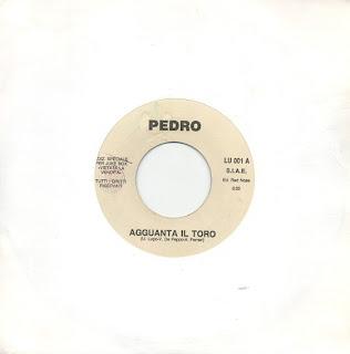 PEDRO/BEATRICE  - Agguanta Il Toro / Africa ,Vinyl 7\'\'