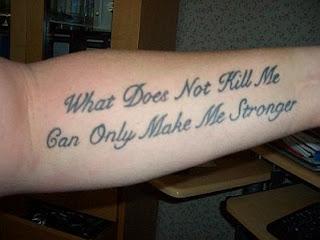 Tatuajes de Frases, parte 3