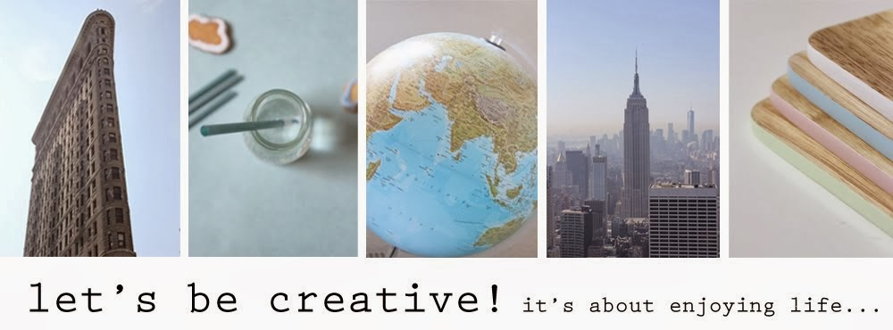let's be creative!