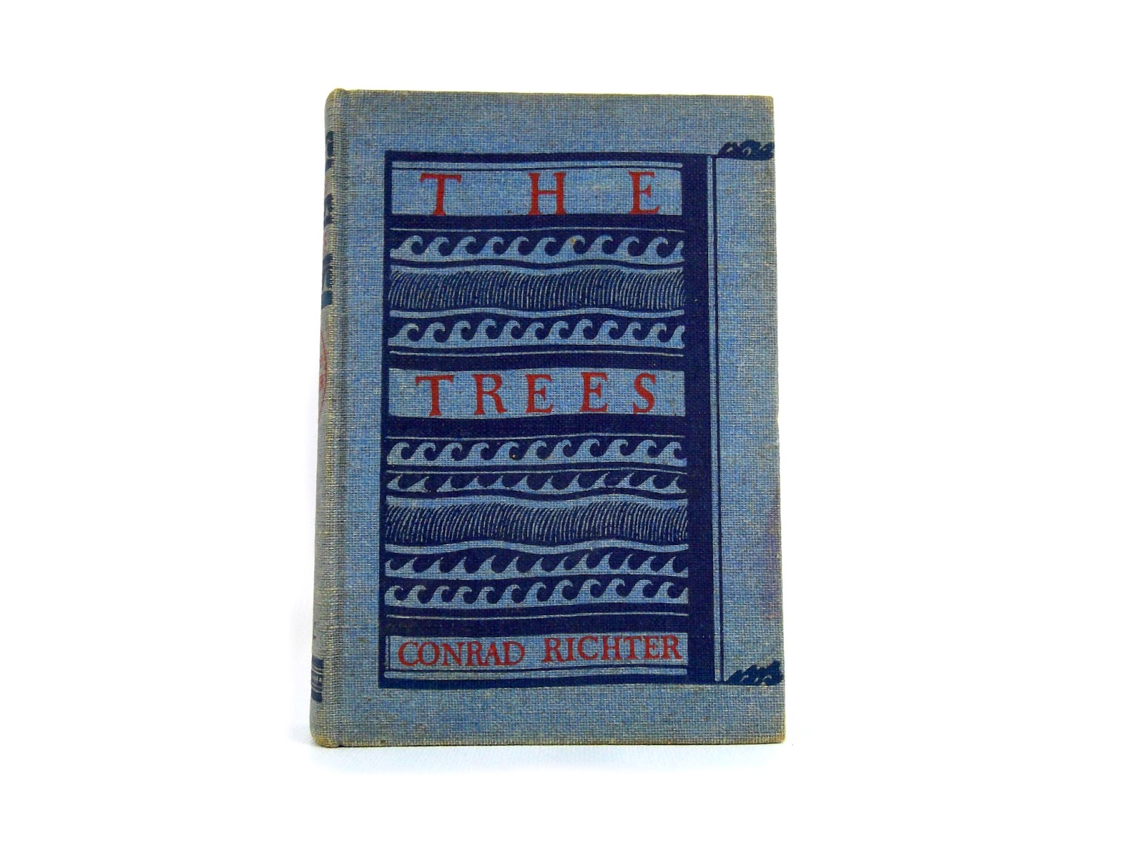The Trees by Conrad Richter Foxburrow Vintage