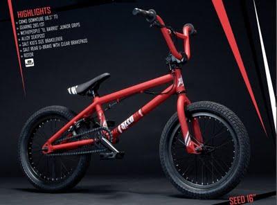 Red and Black BMX Bikes