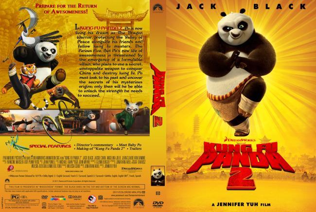 Kung Fu Panda 2 Dvd Cover dvd covers