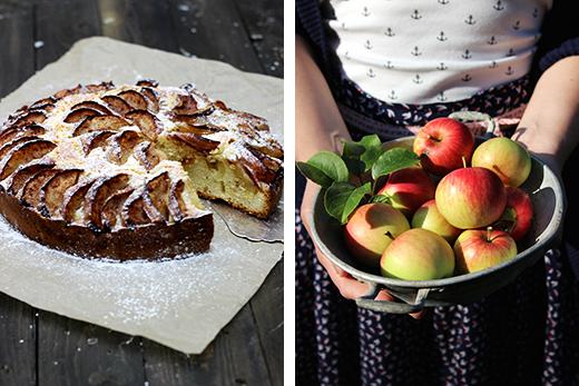 Schwedischer Apfelkuchen Rezept Zimt Holunderweg18 Foodblog