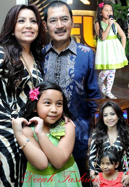 Gaya Busana Mayangsari-Qirani Putri Bambang Tri