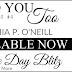RELEASE DAY BLITZ - I NEED YOU TOO by Cynthia P O'Neill