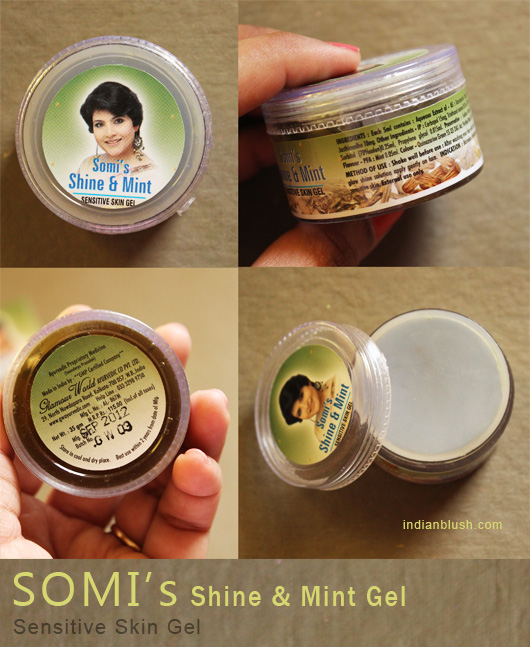Somi's Shine and Mint Gel