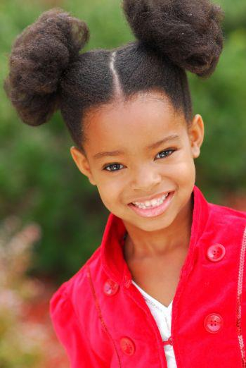 Black Little Girl Hairstyles Ponytails