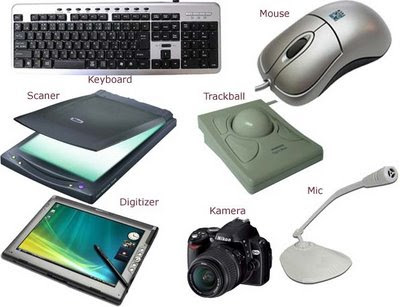 examples of input and output devices computer tutorials