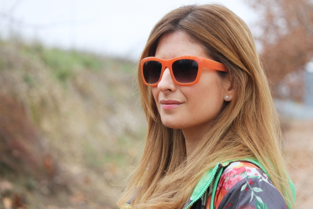 Orange glasses