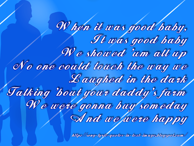 We Were Happy - Taylor Swift Song Lyric Quote in Text Image