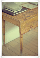 Ett gistet gammalt bord...