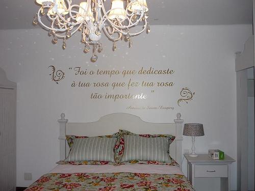 Siga seu Coração Decore seu quarto Frases ~ Adesivo De Parede Para Quarto Casal Romantico