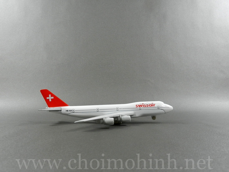 Swiss Air plane 1:400