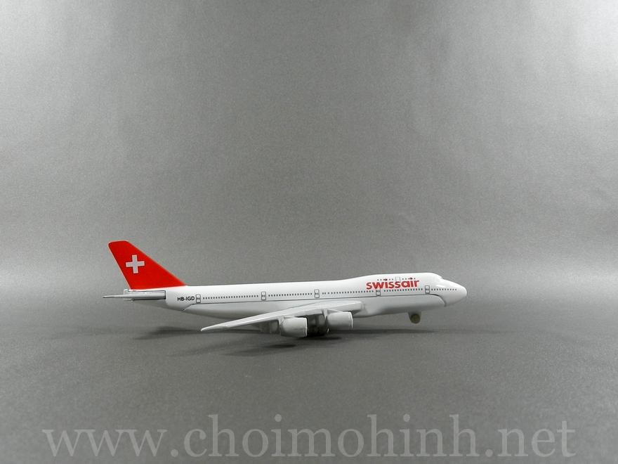 Swiss Air plane 1:400