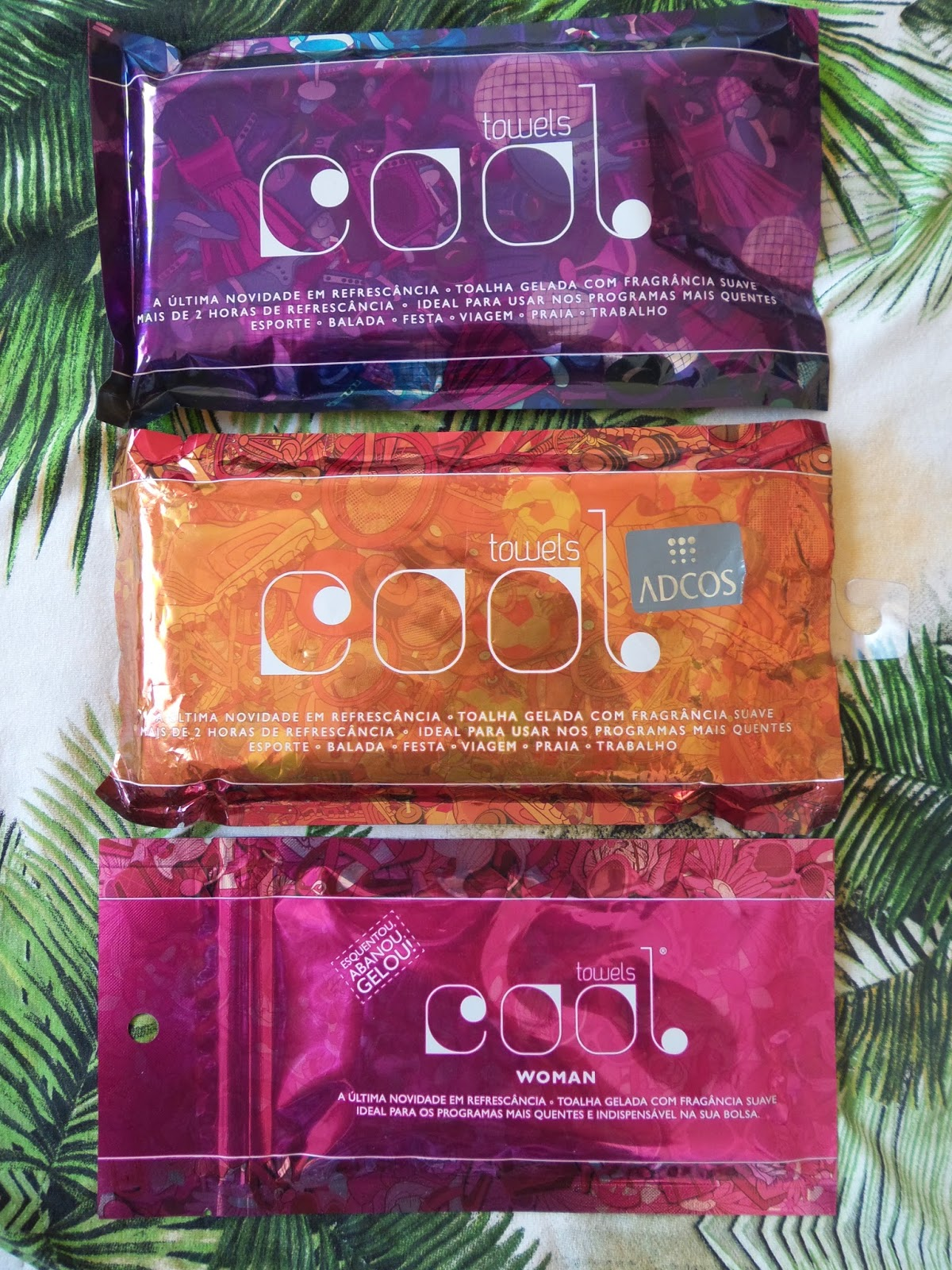 Toalha Gelada Adcos Cool Towels