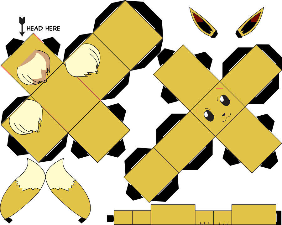 Как сделать из бумаги покемонов из покемонов