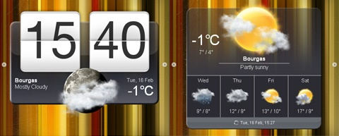 4. jDigiClock : jQuery Digital Clock with Weather