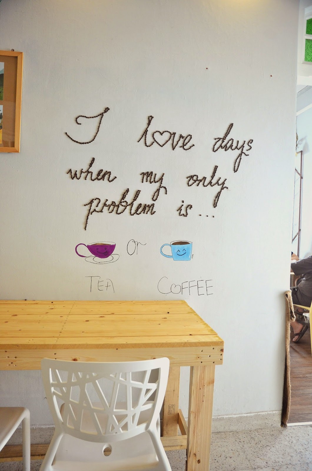Perfect I never had this problem it us forever coffee for me Guess my life is much easier then