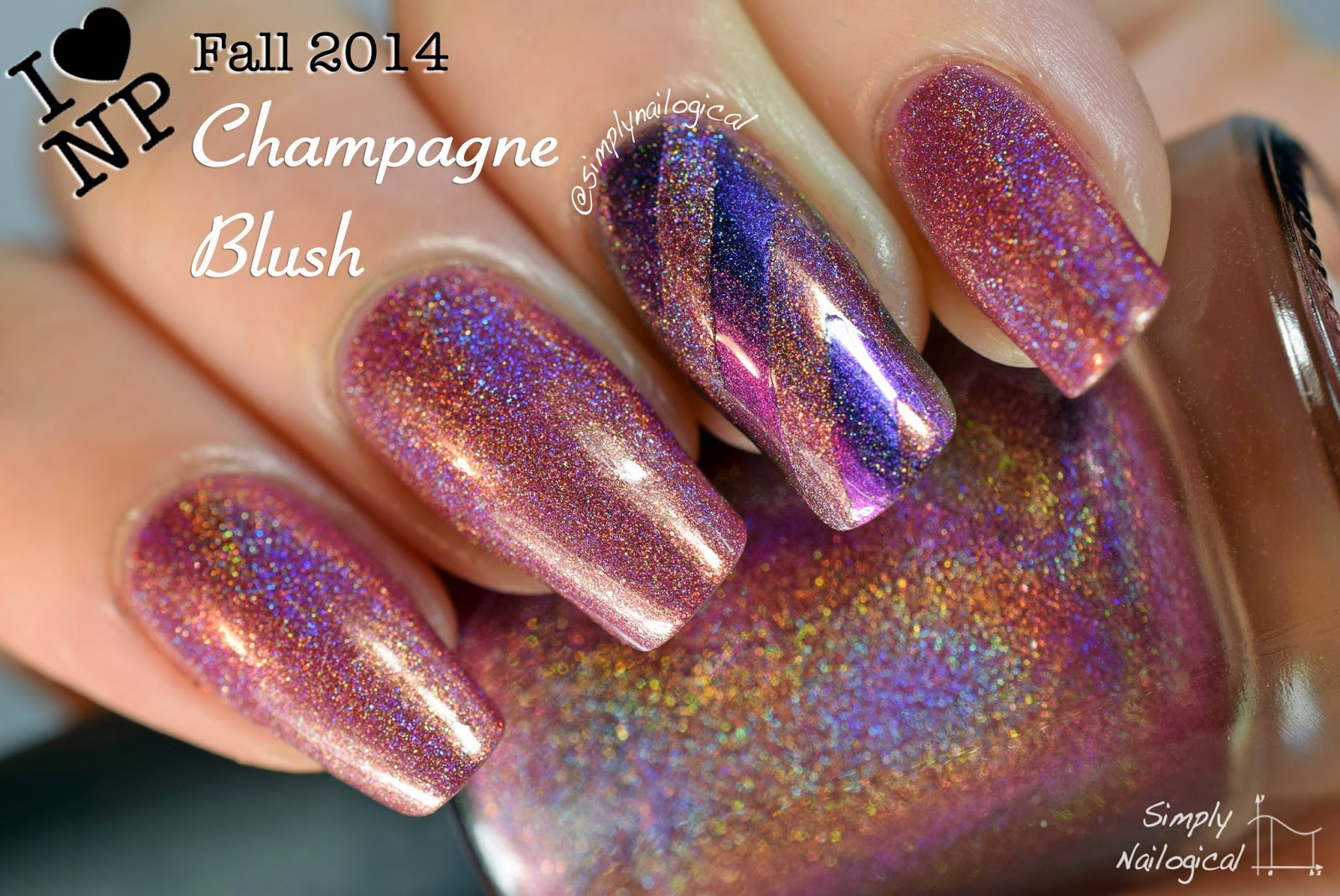 Champagne Blush - ILNP Fall 2014 collection swatch