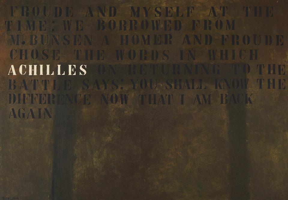 Achilles, Mira Schendel