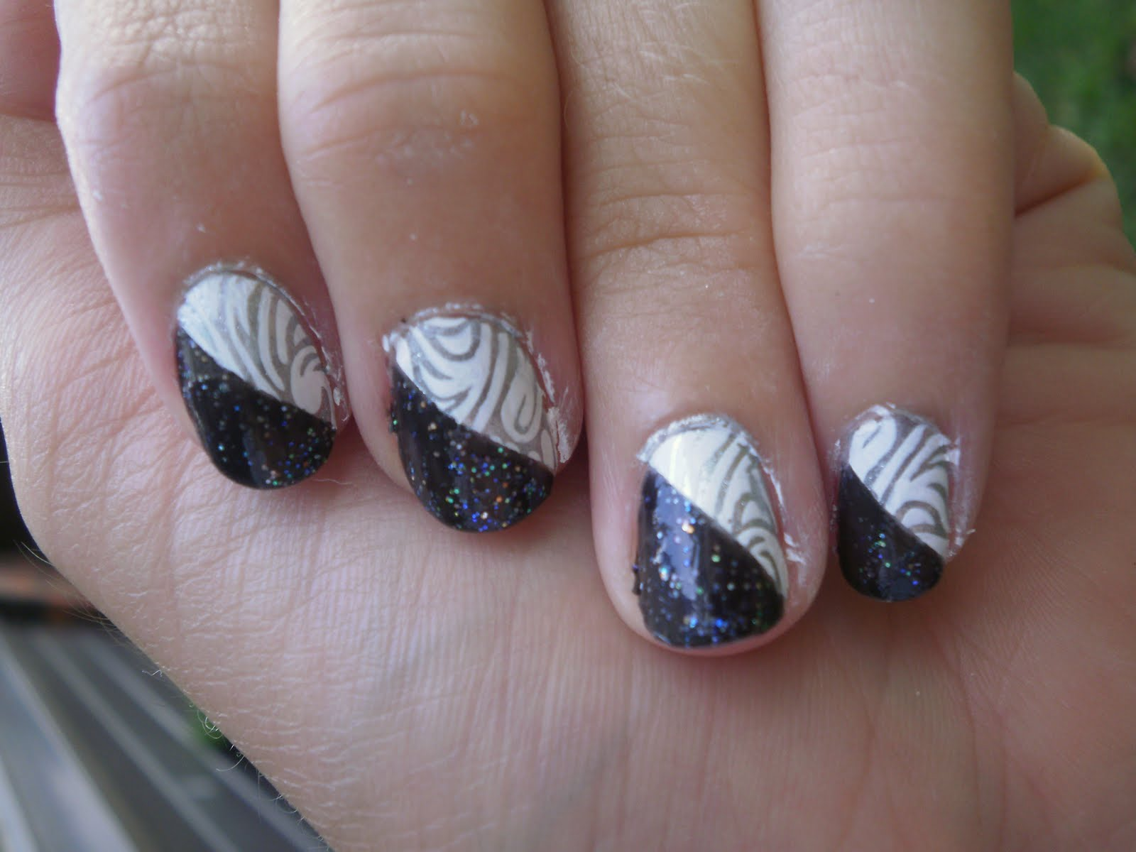 Nail Designs On White Nails Nail Art Designs