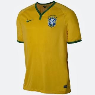 camisa seleção brasileira presente