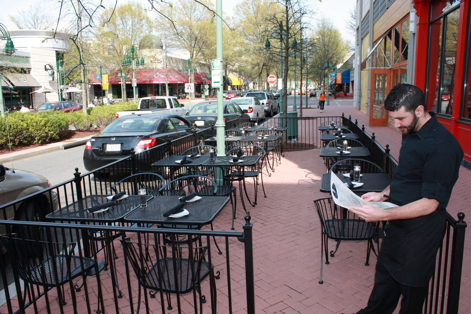 +Cafe+Fencing March 17th, Cap City will open its ever popular patio