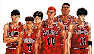 slam dunk anime teamshohoku hanamichi sakuragi wallpaper