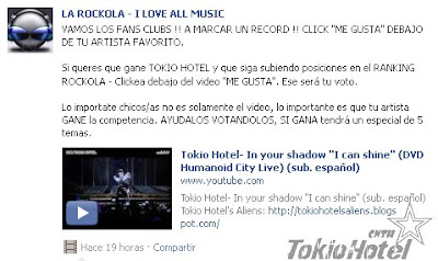 facebook.com: LA ROCKOLA - I LOVE ALL MUSIC 2