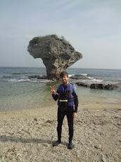 小琉球的花瓶岩