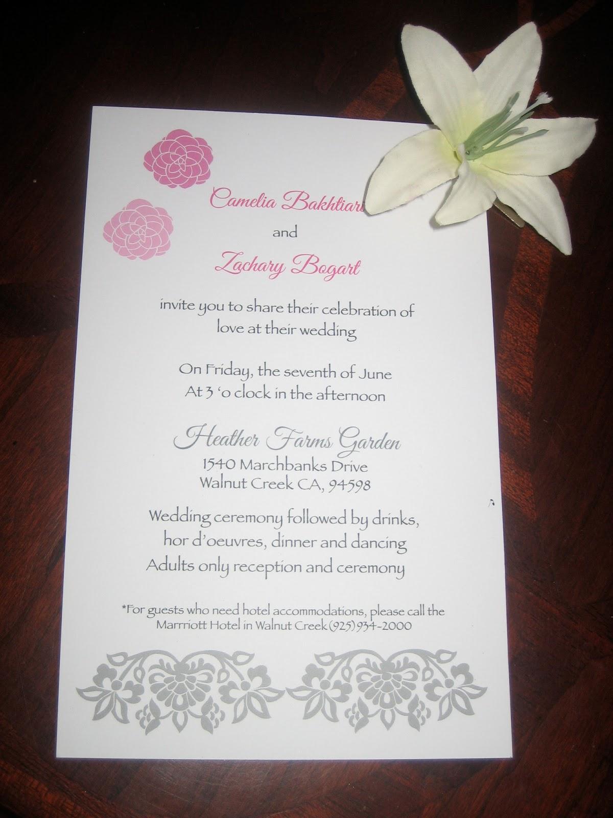 Ghazals Portfolio Wedding Invitation Package