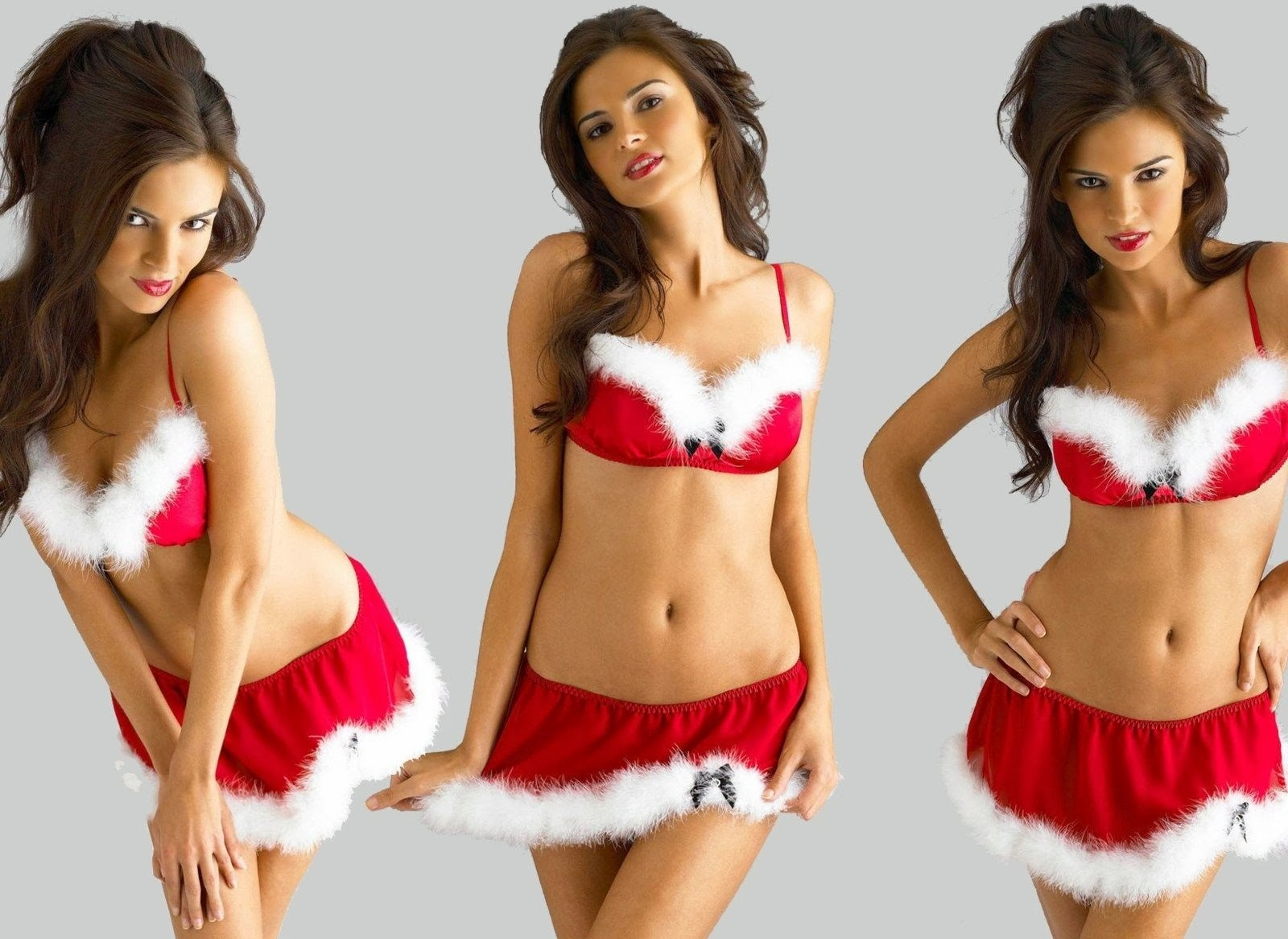 sexy girls in christmas