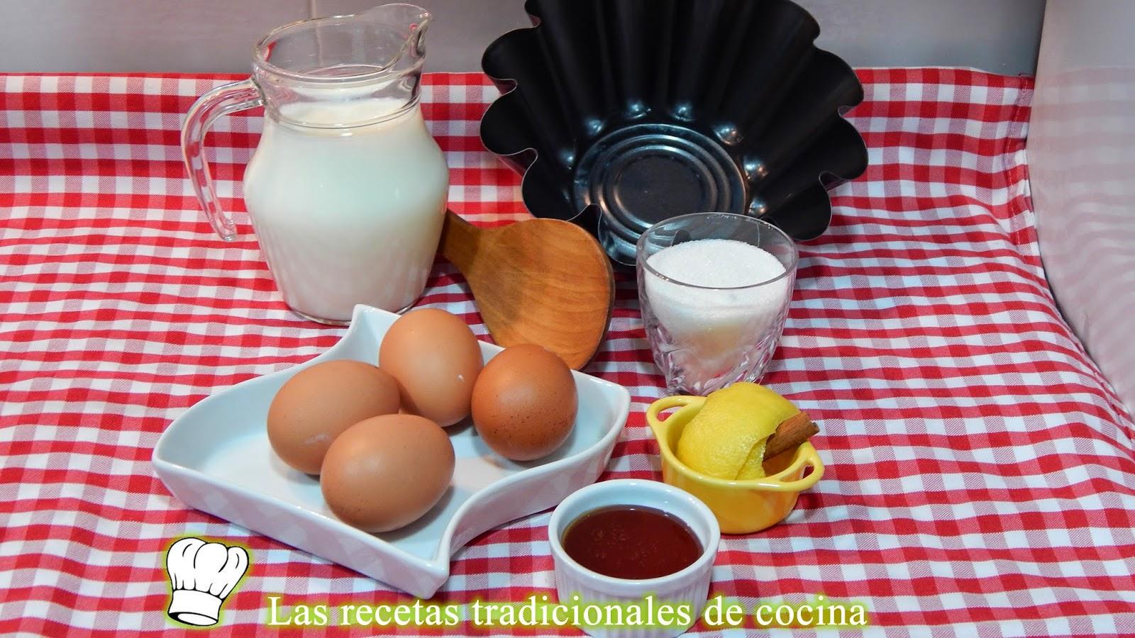 Receta fácil de flan de huevo casero