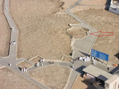 Kubah Ahlul Bait Nabi di Jannat al-Baqi Setelah dihancurkan Wahabi
