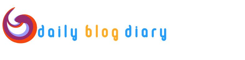 Daily Blog Diary